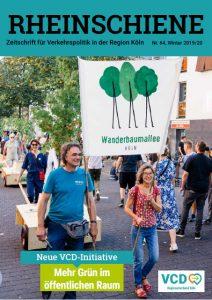 Eine Wanderbaumallee für Köln / Winter 2019/20, Rheinschiene